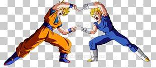 Goku Vegeta Majin Buu Dragon Ball Heroes Trunks PNG
