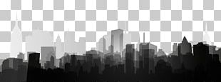 Black And White Template Poster Shadow PNG