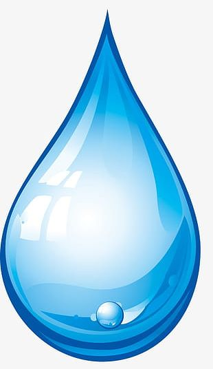 Transparent Water Droplets PNG