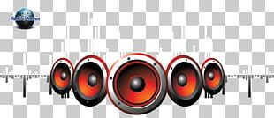 Loudspeaker Disc Jockey Music PNG