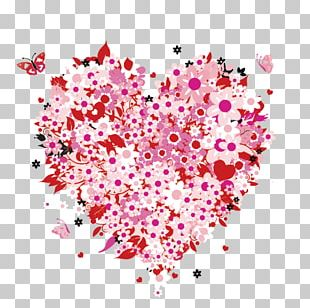 Mother's Day Heart Love PNG