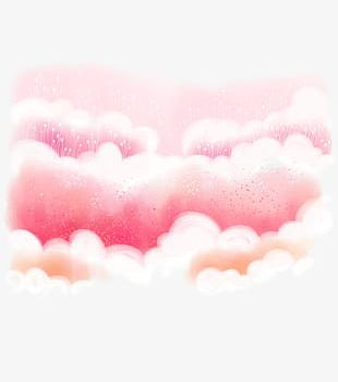 Pink Clouds PNG