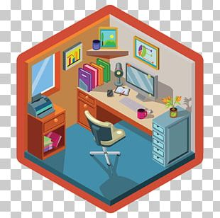 Office & Desk Chairs Isometric Projection Interior Design Services Graphic Design PNG