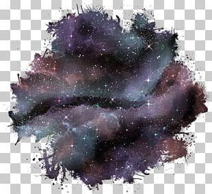 Galaxy Drawing Watercolor Painting PNG