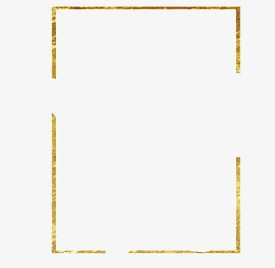 Old Golden Frame PNG