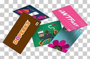 Dunkin' Donuts Coffee Gift Card PNG