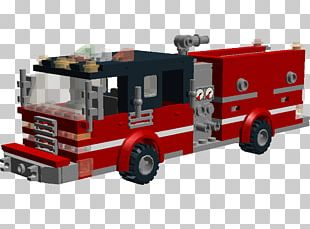 Fire Engine Pickup Truck Motor Vehicle LEGO PNG