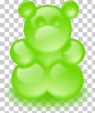 Gummy Bear Gummi Candy PNG