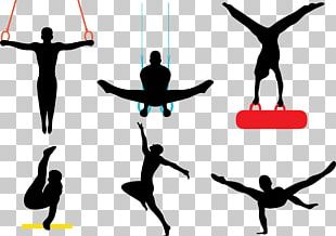 Artistic Gymnastics Silhouette Female PNG