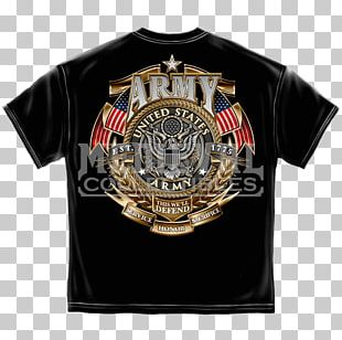 T-shirt United States Marine Corps Badge Army PNG