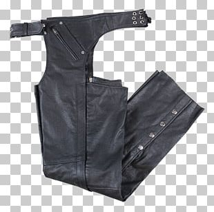 Boutique Of Leathers Chaps Fringe PNG