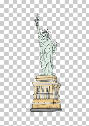 Statue Of Liberty Cartoon Drawing PNG