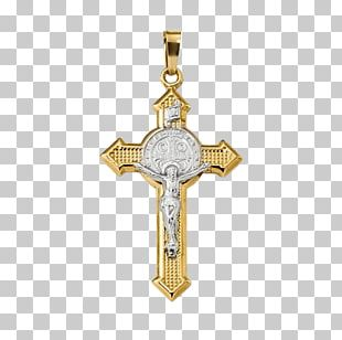 Charms & Pendants Crucifix Gold Necklace Cross PNG