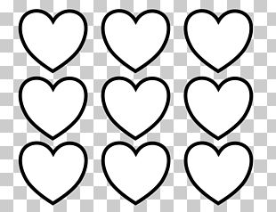 Valentines Day Coloring Book Heart PNG