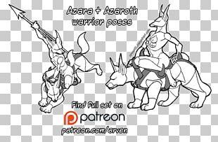 Pack Animal Dog Art Cat Sketch PNG