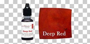 Dye Food Coloring Ink Bottle PNG