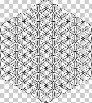 Overlapping Circles Grid Sacred Geometry Islamic Geometric Patterns Pattern PNG