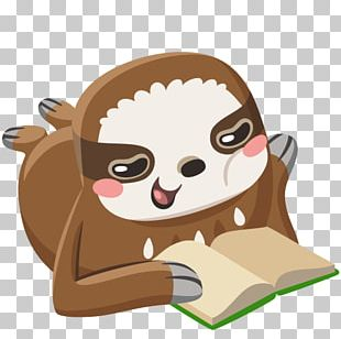 Sticker VKontakte Personal Message BBCode Sloth PNG