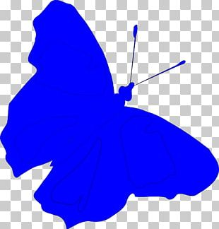 Butterfly Light Blue PNG