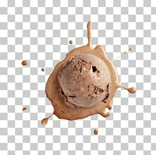 Chocolate Ice Cream Chocolate Truffle PNG