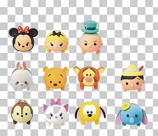 Disney Tsum Tsum Minnie Mouse Pluto Winnie The Pooh White Rabbit PNG