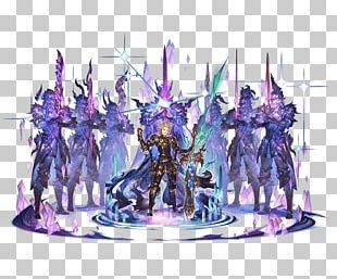 Granblue Fantasy Video Game Concept Art Model Sheet PNG