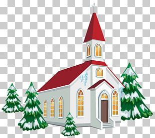 Christmas Church Service PNG