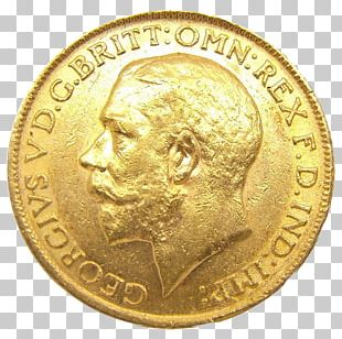 Coin Gold United Kingdom Perth Mint Sovereign PNG