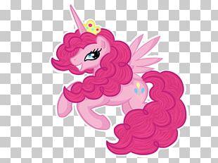 Pinkie Pie My Little Pony Winged Unicorn PNG