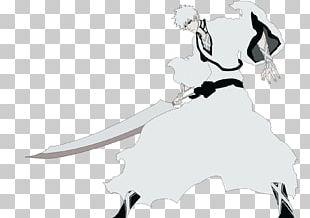 Ichigo Kurosaki Monkey D. Luffy Black And White Anime Bleach PNG