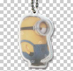 Stuart The Minion Safety Reflector Locket Safety Pin Jewellery PNG