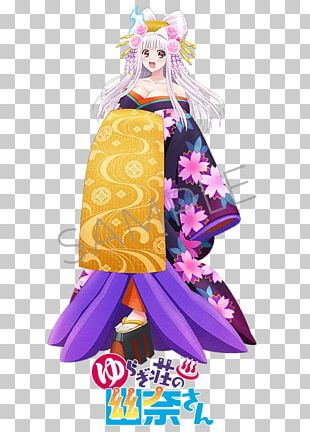 2018 AnimeJapan Yuuna And The Haunted Hot Springs Character PNG