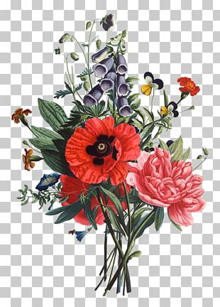 Flower Bouquet Drawing Cut Flowers PNG