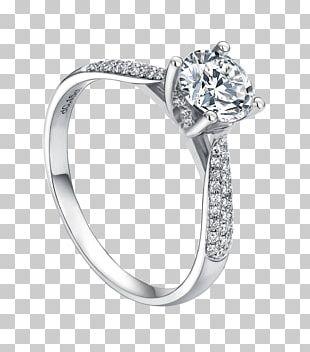 Wedding Ring Engagement Ring Diamond PNG