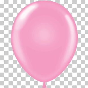 Balloon Pink Birthday Red Confetti PNG
