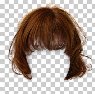 Hairstyle Brown Hair Wig PNG