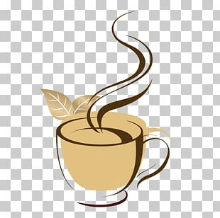 Iced Coffee Cafe Coffee Cup Adobe Illustrator PNG
