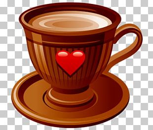 Coffee Cup Espresso Chocolate-covered Coffee Bean Instant Coffee PNG