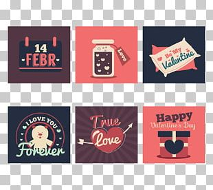 Valentines Day Greeting Card Love PNG