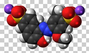 Allura Red AC Food Coloring Molecule Betanin Tartrazine PNG