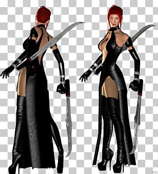 BloodRayne 2 Lara Croft Video Game PNG
