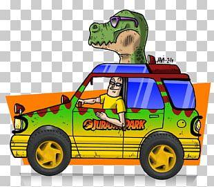 Jurassic Park Universal's Islands Of Adventure Model Car Compact Car PNG
