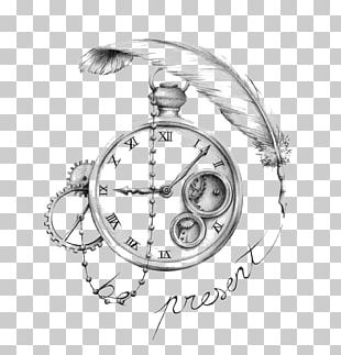 Sleeve Tattoo Drawing Clock Tattoo Artist PNG