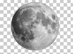 Supermoon Full Moon Lunar Phase New Moon PNG