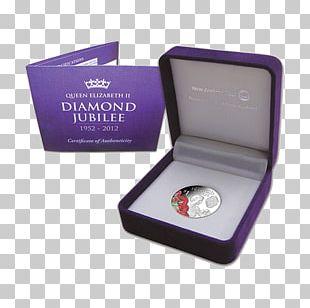 Diamond Jubilee Of Queen Elizabeth II Commemorative Coin Silver PNG