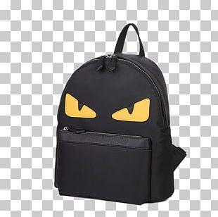 Bag Backpack Zipper Fendi PNG