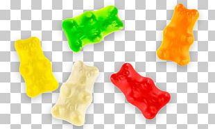 Gummy Bear Gummi Candy Gelatin Dessert Flavor PNG