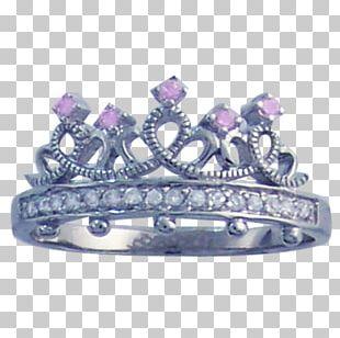 Amethyst Purity Ring Tiara Princess PNG