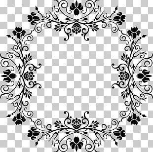 Black And White Decorative Arts Photography Drawing PNG