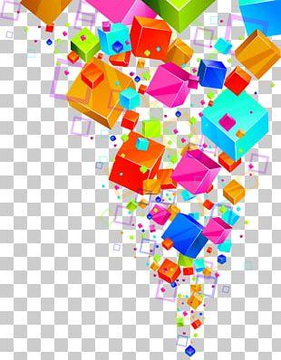 Euclidean Cube Color Icon PNG
